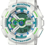 GA-110WG-7ADR GA-110WG-7A Casio G-Shock Digital Analog Watch
