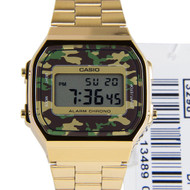 Casio Vintage Mens Watch A168WEGC-3DF A168WEGC-3D