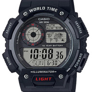 Casio Alarm Male Watch AE-1400WH-1A AE-1400WH-1AVDF