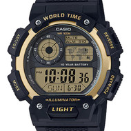 Casio Alarm Male Watch AE-1400WH-9A AE-1400WH-9AVDF