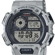 Casio Alarm Male Watch AE-1400WHD-1A AE-1400WHD-1AVDF