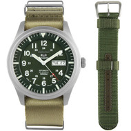SNZG09J1 Seiko 5 Sports Military Watch
