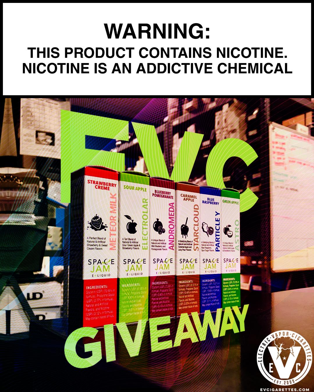 Space Jam Juice Giveaway! - EVcigarettes com