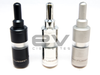 The Russian v2 Rebuildable Atomizer Black, Polished Steel, Grey Matte