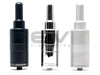 The Russian 91% v2 Rebuildable Atomizer Black, Polished Steel Polished, Matte Grey with solid tanks