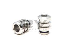 Stainless Steel Tesla Turret (clone) Drip Tip for RBAs / 510 / 808D-1 / 901