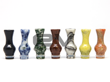 Natural Jade Stone Ming Vase Drip Tip for RBAs   510   808D-1   901