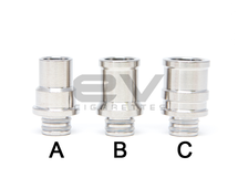 Titanium Wide Bore Drip Tips for RBAs | 510 | 808D-1 | 901