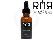 RNR Black E-Liquid - General's Cream