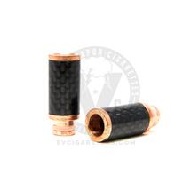 Metal Carbon Fiber Wide Bore 510 Drip Tip