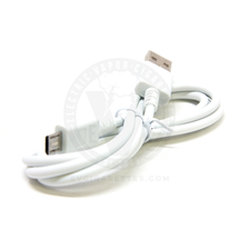 White (iTaste) USB Cable - 3ft (A to Micro B)