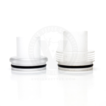Frosted Plastic Chuff Enuff Top Cap - 28.5mm