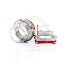 Glass Chuff Enuff Heatsink Styled Top Cap - 28mm