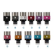Aluminum Air Flow Control 510 Drip Tip Mouthpiece