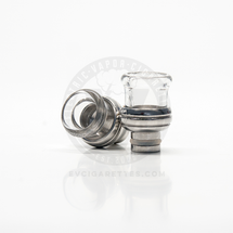 Shorty Glass & Stainless Steel 510 Drip Tip Mouthpiece