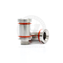 Reverse Glass Stainless Steel 510 Drip Tip Mouthpiece