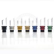 Glass & Aluminum Muffler 510 Wide Bore Drip Tip Mouthpiece - Type A