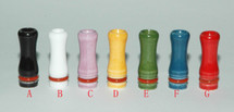 Ceramic Drip Tip for 510/808/901 - Round Tip