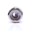 Dual stainless steel coils wrapped in organnic cotton provide excellent flavor.