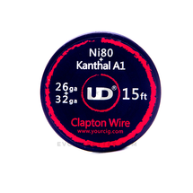Youde (UD) Nichrome Core (Ni80) Resistance Wire Coil - Clapton Wire