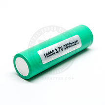 Samsung 25R INR 18650 - 2500mAh 20A Battery (GREEN)
