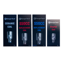 Kanger SSOCC V2 Atomizer Heads for Subvod / Top Tank / Nebox / Subtank (5pcs)