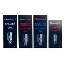 Kanger SSOCC V2 Atomizer Heads for Subvod / Top Tank / Nebox / Subtank (5pcs)