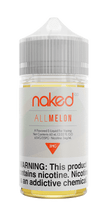 Naked 100 E-Liquid - All Melon