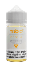 Naked 100 E-Liquid - Mango