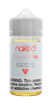 Naked 100 Menthol E-Liquid - Strawberry POM