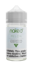 Naked 100 Menthol E-Liquid - Melon