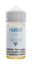 Naked 100 Menthol E-Liquid - Berry