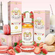 Mr. Macaron E-Liquid - Strawberry Cream