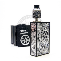 Plaque 150W Box MOD w/ Triad (+2)Genesis RDTA by Asmodus