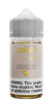 Naked 100 Tobacco E-Liquid - Euro Gold