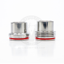 Stainless Steel Chuff Enuff Top Cap - 28.5mm
