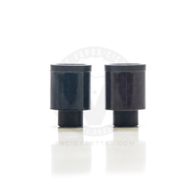 Carbon Fiber Delrin Friction 510 Drip Tip Mouthpiece - 14mm (No O-Ring)