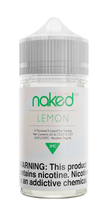 Naked 100 Fusion E-Liquid - Lemon