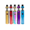 The Smok Stick V8 Baby Kit is available in a range of colors and finishes, including Gold, Anodized Red, 7-Color Rainbow, Anodized Purple, and Sky Blue.