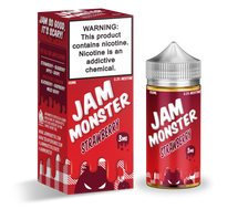 Jam Monster E-Liquid - Strawberry Jam