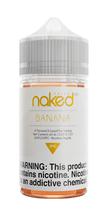 Naked 100 Cream E-Liquid - Banana