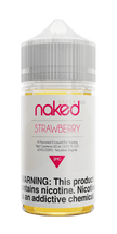 Naked 100 Cream E-Liquid - Strawberry