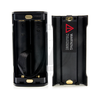 The two-cell battery cover can be removed and replaced with a very convenient three-cell cover that gives the Fuchai Duo-3 a generous wattage bump.