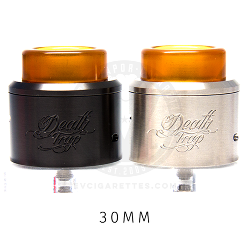 Made from stainless steel in a bare or matte black finish, the Deathtrap RDA is a single-coiler's dream.