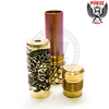 The double-walled body of Purge mech mods provide ample heat insulation from warm cells and hot RDAs.