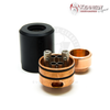 Each Trickster RDA comes with a top cap and deck made from matching materials.