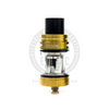 The TFV8 X-Baby Sub-Ohm Tank in a Gold finish.