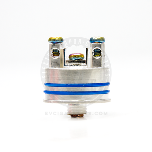 The all-new and improved Mini Buddha v2 RDA Deck! The dual clamp/posthole posts remain the same, but everything else has received an upgrade.
