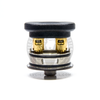 The AMPUS Screwless RDA by Ampus Vape uses a special tool to open the spring-loaded post terminals simultaneously.