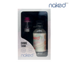 The Naked 100 E-Liquid & Ohmie Sub-Ohm Tank Atomizer Bundle with Hawaiian POG and pink tank accents.